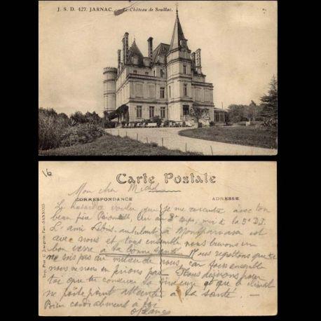 16 - Jarnac - Le chateau de Souillac