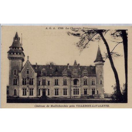 16 - Pres de Villebois-Lavalette - chateau de Mailleberchie - Non voyage - D...