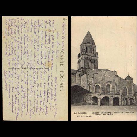 16 - Saintes - Caserne Taillebourg - Ancienne Abbaye des Dames
