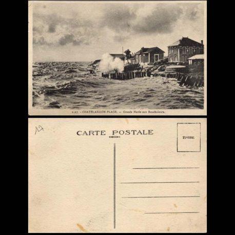 17 - Chatelailln plage - Grande Maree aux Boucholeurs