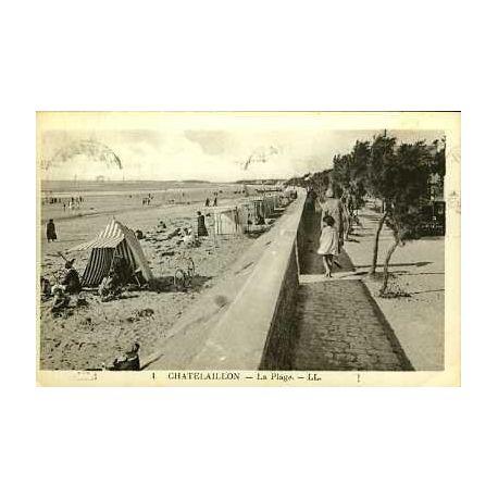 17 - CHATELAILLON - LA PLAGE - ANIMEE