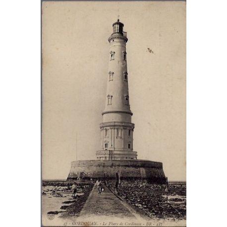 17 - Cordouan - Le phare de Cordouan - Non voyage - Dos divise...