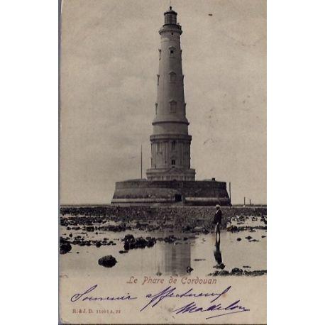 17 - Cordouan - Le phare de Cordouan - Voyage - Dos non divise...