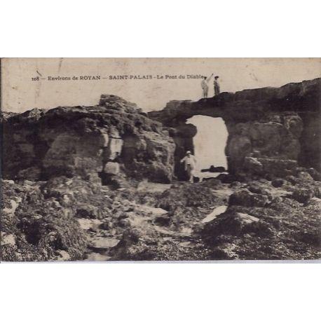17 - Environs de royan - Saint Palais - Le pont du Diable - Voyage - Dos div...