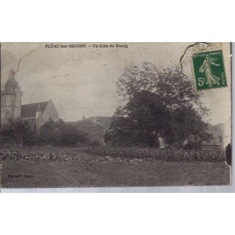 17 - Fleac-sur-Seugne - Un coin du bourg - Voyage - Dos divise...