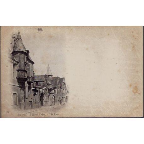 Carte postale 18 - Bourges - L' Hotel Cujas - Non voyage - Dos non divise...