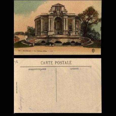 Carte postale 18 - Bourges - Le chateau d'eau