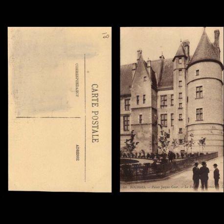 Carte postale 18 - Bourges - Le palais Jacques Coeur - Facade Meridionale