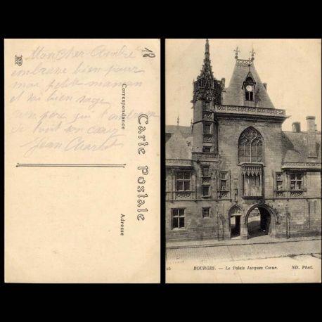 Carte postale 18 - Bourges - Le palais Jacques Coeur - II
