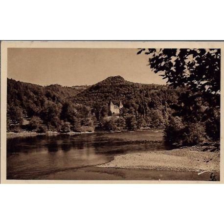 Carte postale 19 - Argentat - Le Gibanel - Confluent du Doustre et de la Dordogne - Voyage...