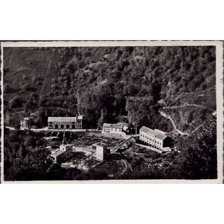 Carte postale 19 - Environs d' Allassac - usine du barrage du Saillant - Non voyage - Dos ...