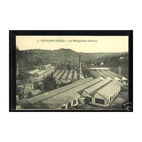 Carte postale 19 - Souilhac-Tulle - La manufacture d'Armes