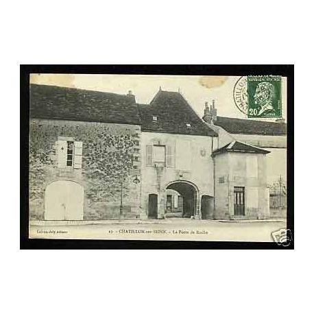 Carte postale 21 - Chatillon sur Seine - La porte de Roche