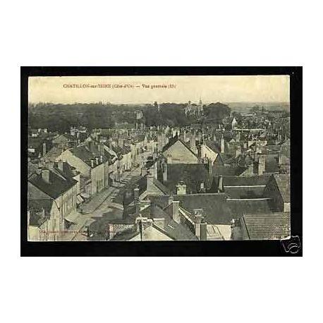 Carte postale 21 - Chatillon sur Seine - Vue Generale