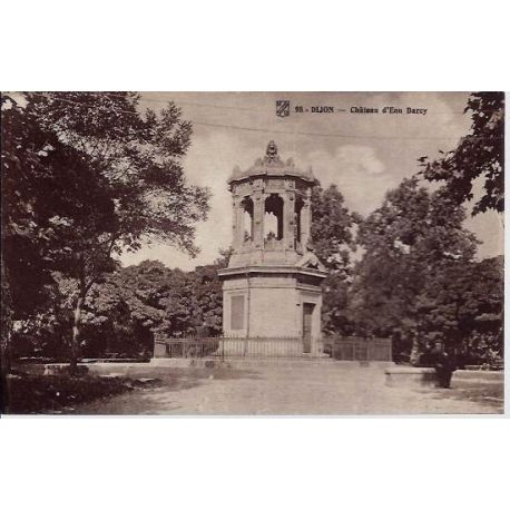 Carte postale 21 - Dijon - Chateau d'eau Darcy - Non voyage - Dos divise