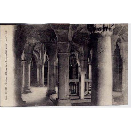 Carte postale 21 - Dijon - Crypte de l'eglise Saint-Benigne ( XI eme siecle) - Non voyage -