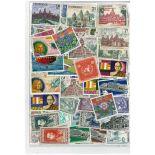 Collezione di francobolli Cambogia khmer usati