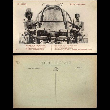 Carte postale 21 - Dijon - Eglise Notre Dame