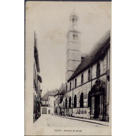 Carte postale 21 - Dijon - Faculte de droit - Non voyage - Dos non divise...