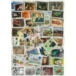 Sammlung gestempelter Briefmarken Kamerun