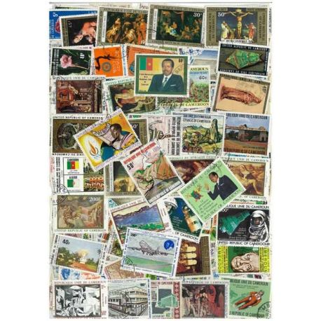 Cameroon - 25 different stamps