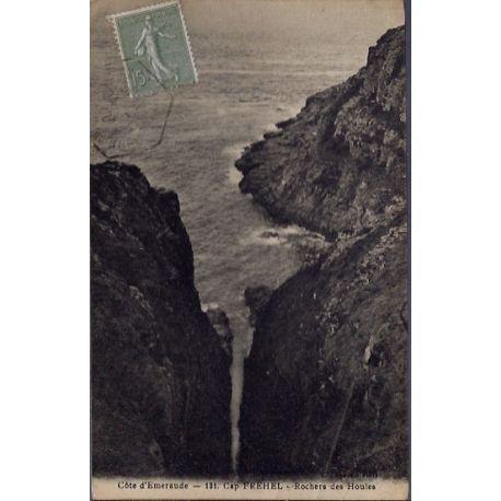 22 - Cap Frehel - Rochers des Houles - Voyage - Dos divise...