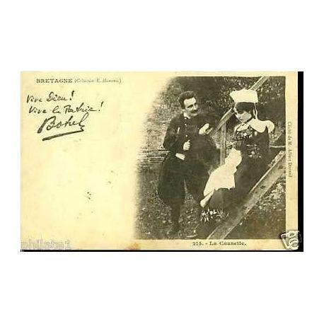 Carte postale 22 - Chansons de Botrel - La Causette Na?° 214