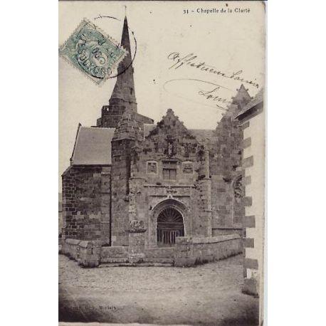 22 - Chapelle de la Clarte - Voyage - Dos non divise