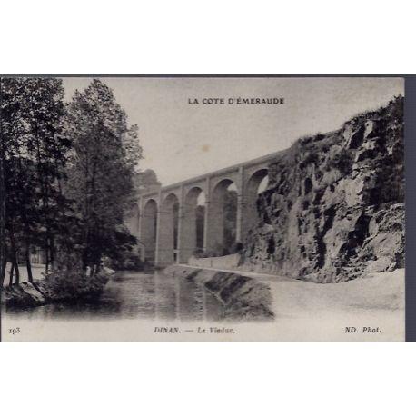 22 - Dinan - Le viaduc - Voyage - Dos divise...