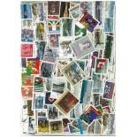 Used stamp collection Canada