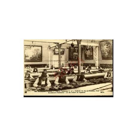 Carte postale 23 - AUBUSSON - UN DES ATELIERS - R et L HAMOT