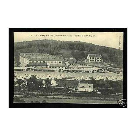 Carte postale 23 - Camp de la Courtine - Artillerie et 2e Brigade