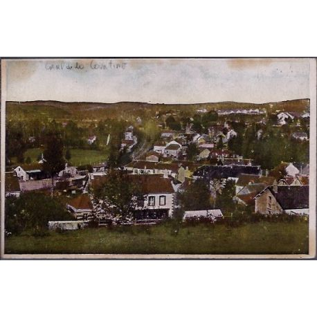 Carte postale 23 - Camp de la Courtine - Vue generale - Non voyage - Dos divise...
