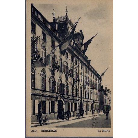 24 - Bergerac - La Mairie - Voyage - Dos divise...