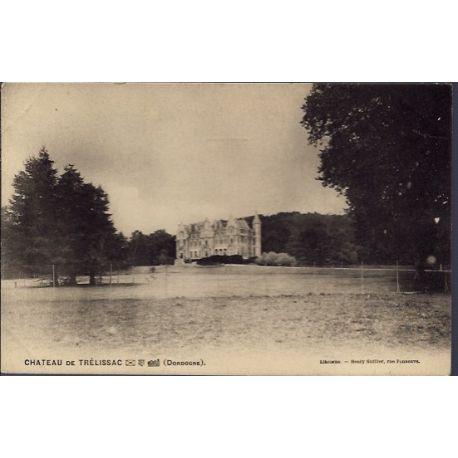 24 - Chateau de Trelissac - Non voyage - Dos divise...