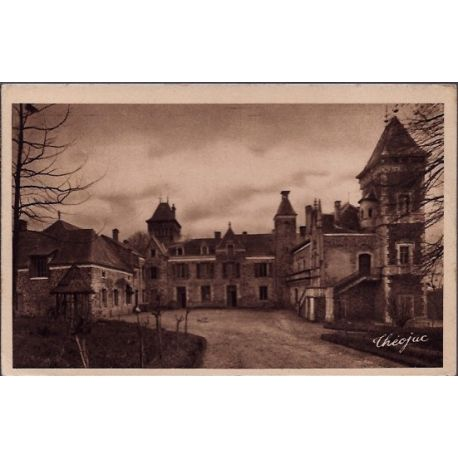 24 - Dordogne - Chateau de Hoche - Voyage - Dos divise...