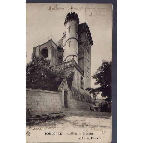 24 - Dordogne - Chateau de Monclar - Voyage - Dos non divise...