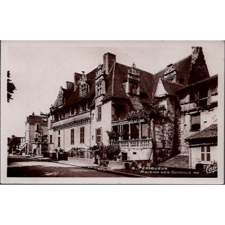 24 - Perigueux - Maison des Consuls - Non voyage - Dos divise...