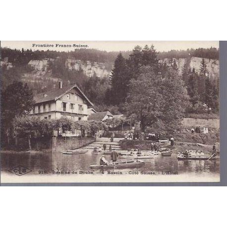 25 - Bassin du Doubs - Cote suisse - L'hotel