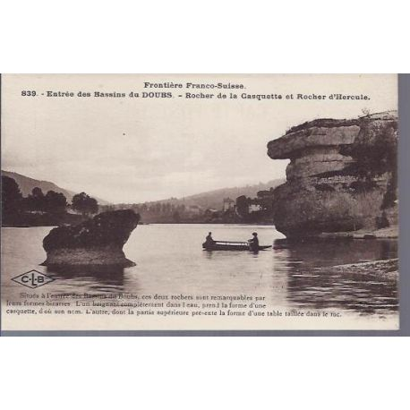 25 - Bassins du Doubs - Rocher Casquette