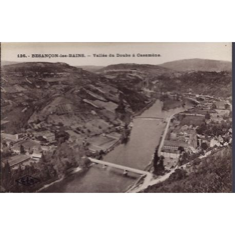 25 - Besancon-les-Bains - Vallee du Doubs a Casamene - Non voyage - Dos div...