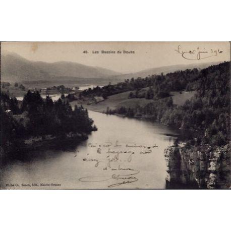 25 - Les Bassins du Doubs - Voyage - Dos divise...