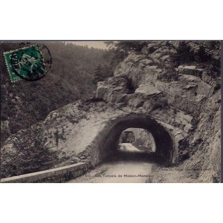 25 - Les tunnels de Maison-Monsieur - Voyage - Dos divise...