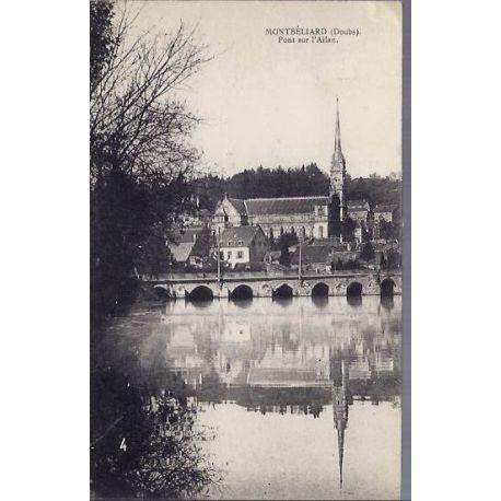 25 - Montbelliard - Pont sur l'Allan