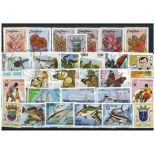 Sammlung gestempelter Briefmarken Kapverdische Inseln
