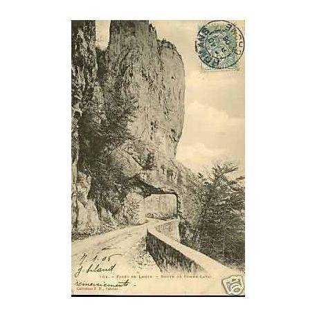 Carte postale 26 - Foret de Lente - Route de Combe-Laval