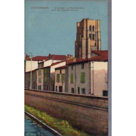 Carte postale 26 - Montbrison - Eglise Notre-Dame