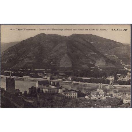 Carte postale 26 - Tain-Tournon - Coteau de l' Hermitage - Grand cra» classe des cotes du ...