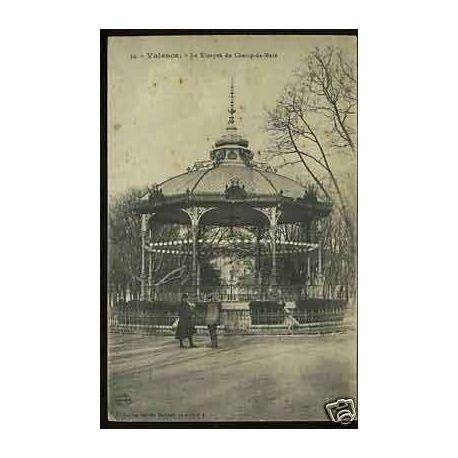 Carte postale 26 - Valence - Le kiosque du Champ de Mars