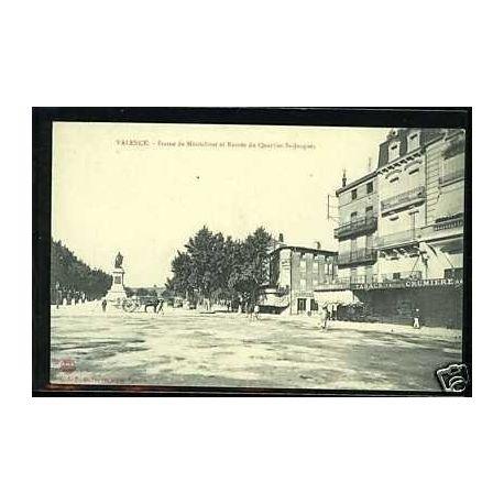 Carte postale 26 - Valence -Statue de Montalivet -Quartier St-Jacques